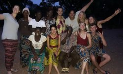 9 étudiants de l'IFF Europe d'Angers en mission à Kouarfa