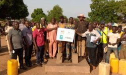 L'eau potable solidaire à Materi (Bénin)